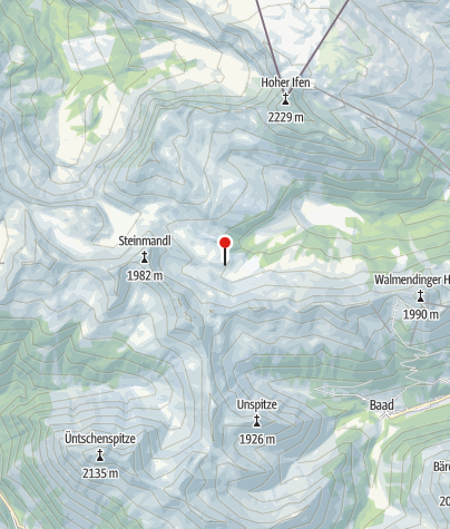Map / Schwarzwasserhütte