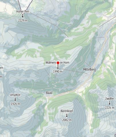 Map / Gipfelstuba Walmendingerhorn