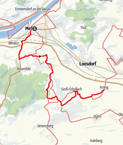 Karte / DUR 7: Melk - Inning