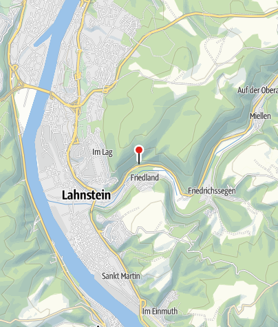 Map / Ruppertsklamm Gorge