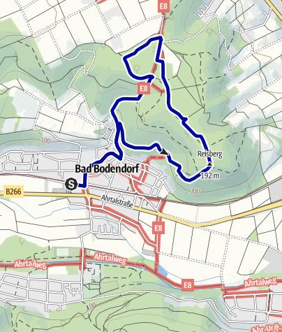 Karte / Bad Bodendorf Rundweg Nr. 5