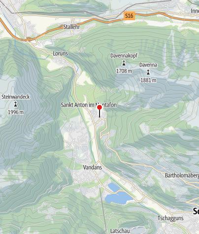Karte / Ferienwohnung Battlogg Alois