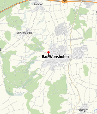 Karte / Barfuß - Wanderweg