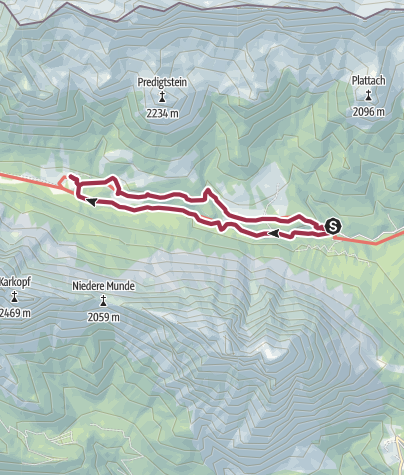 Map / Almenwanderung im Gaistal
