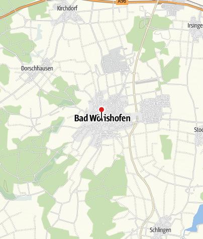 Karte / Pfarrbüro der Pfarrgemeinschaft Bad Wörishofen