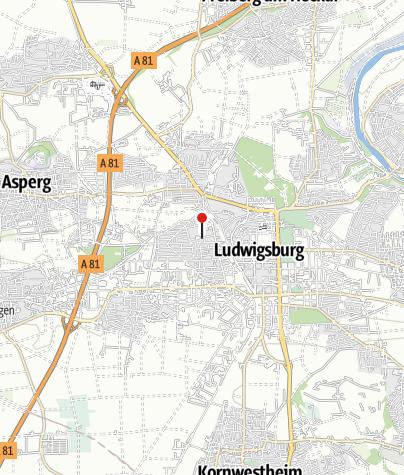 Karte / Ludwigsburg Bildungsz. West