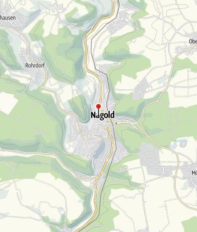 Karte / Nagold, Burgstraße