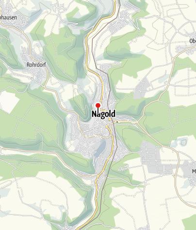 Karte / Nagold, Burgplatz