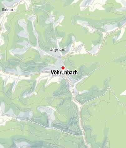 Karte / Vöhrenbach Rathaus