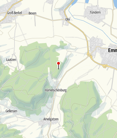 Karte / Wander-Rastplatz Emmern-Forst