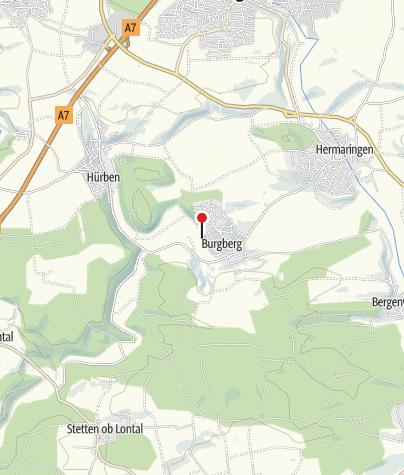 Karte / Naherholungs- und Freizeitanlage Burgberg