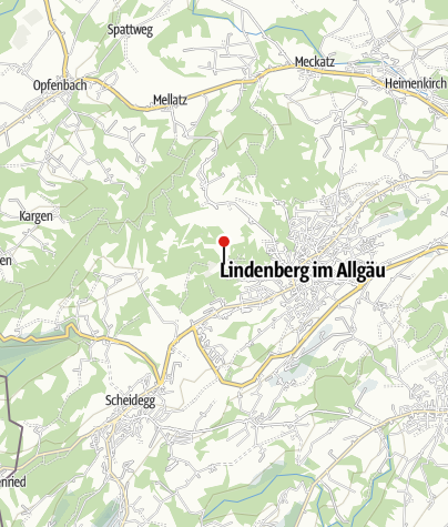 Karte / Naherholungsgebiet Waldsee