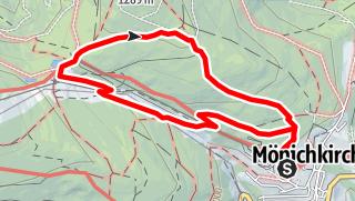 """Karte / """"Tut gut"""" Route 1 - Rundwanderweg"""
