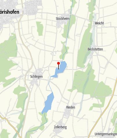 Karte / Frankenhofener See