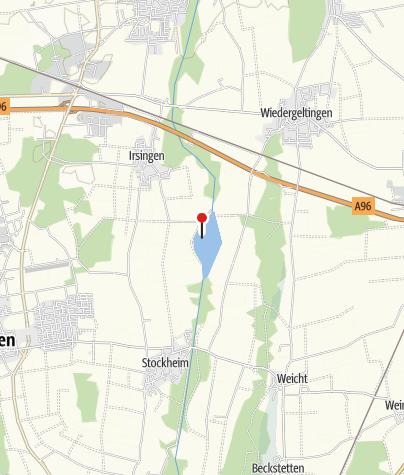 Karte / Irsingener See