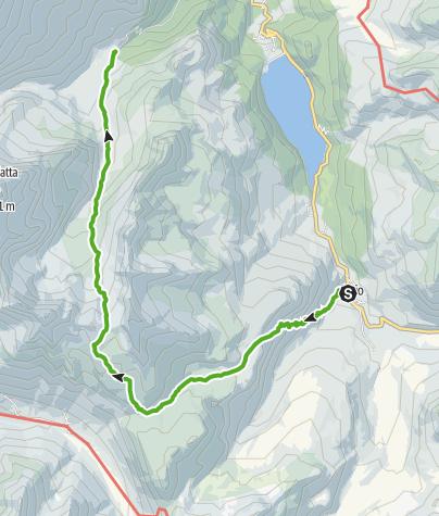 Karte / Bivio - Tga/Val Faller