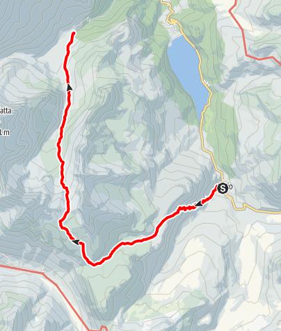Karte / Bivio - Stallerberg - Fuorcla da Faller - Tga/Val Faller