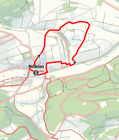 Map / Schleimweg (A2) Medelon