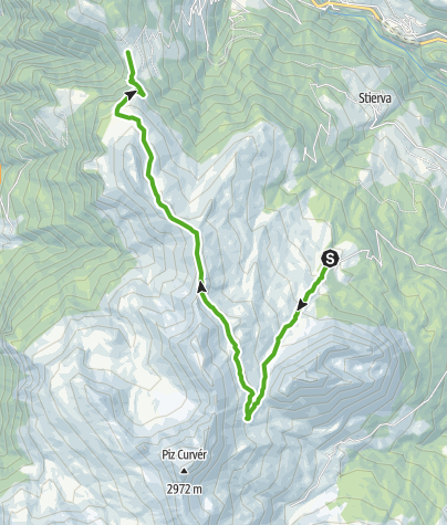 Karte / Munter - Ziteil - Obermutten
