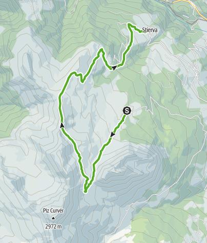 Karte / Munter - Ziteil - Stierva