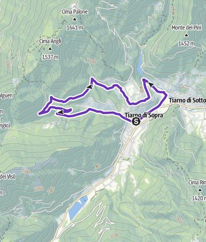 Cartina / Itinerario SS. Pietro e Paolo