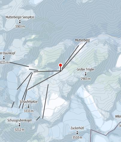 Map / Stubaier Gletscher Mittelstation