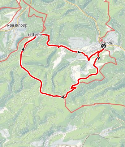 Karte / Züschen (Z4) Start: Winterberg-Züschen