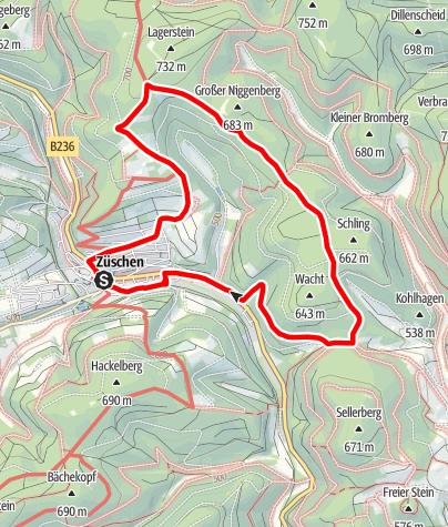 Map / Züschen (Z5) Start: Winterberg-Züschen