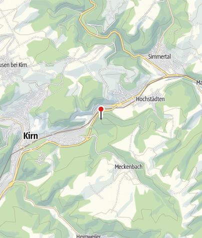 Map / Aussichtspunkt auf dem Hellberg bei Kirn