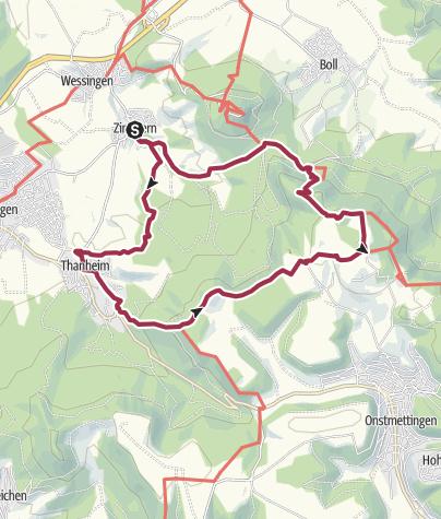 Karte / Rundweg Zeller Horn