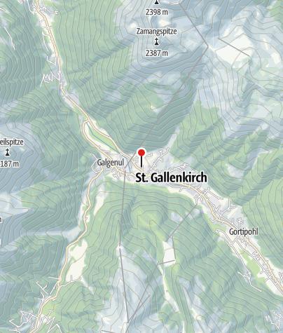 Karte / Appartment Mountainview
