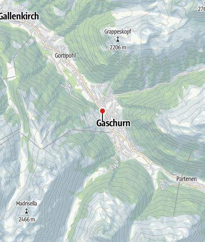 Karte / Haus Madrisella