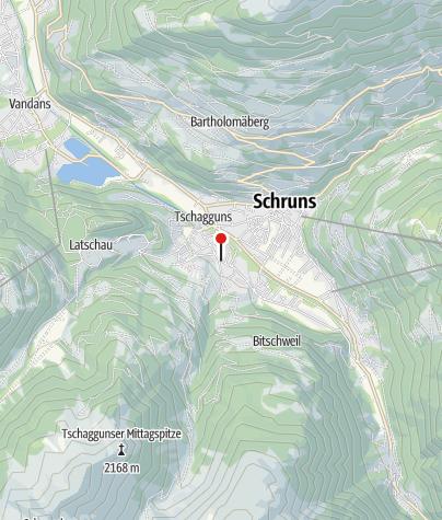 Karte / Ferienwohnung Brunella