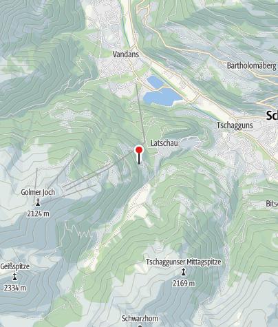 Karte / Gauahof Maisäß Bärg