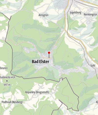 Karte / Königliches Kurhaus Bad Elster