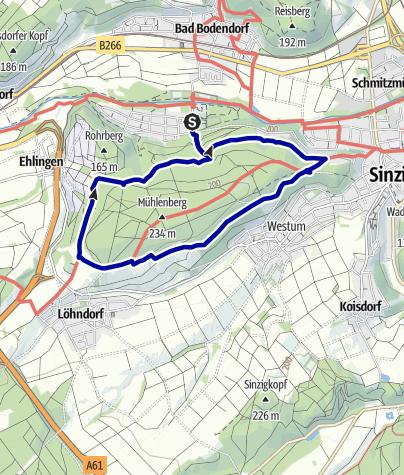Karte / Bad Bodendorf Rundweg 4
