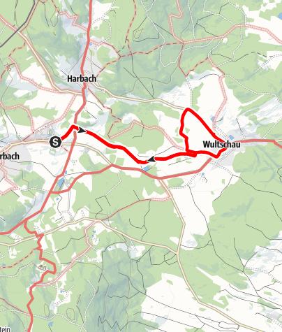 Mapa / Wultschaubachweg Nr. 15