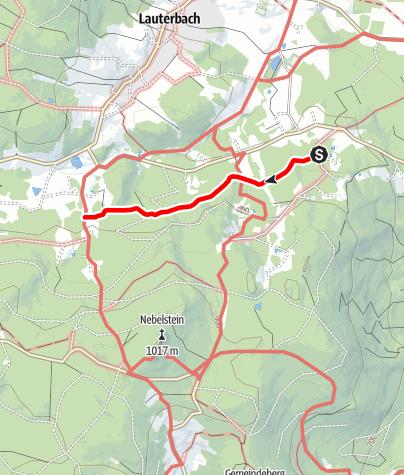 Mapa / Waldweg - Nr. 23