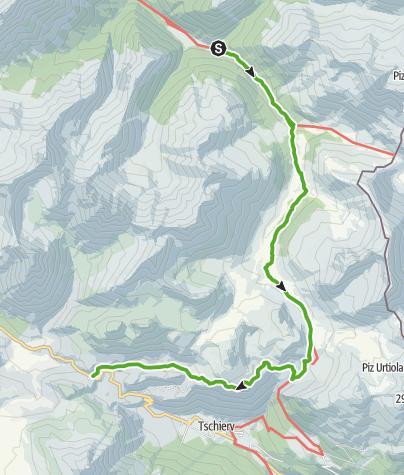 Karte / 45.03 S-charl - Sta Maria, Nationalpark-Panoramaweg