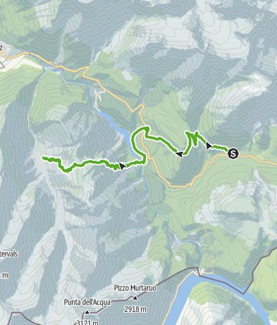 Map / 45.05 Buffalora - Zernez (Vallun Chafuol), Nationalpark-Panoramaweg
