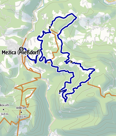 Map / Mežica - Plat-Runde