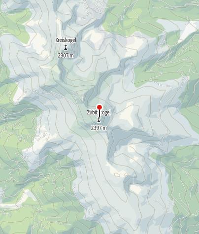 Map / Zirbitzkogel-Schutzhaus