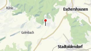Karte / Parkplatz Holenberg