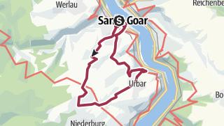 Carte / St. Goar - Höhenweg