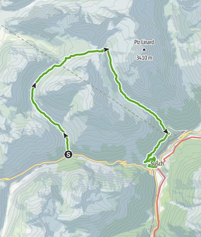 Kaart / Flesspass und Vereinapass