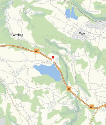 """Karte / Gaststätte """"Seehaus - beim Campingplatz"""""""