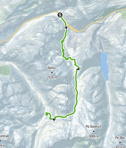 Karte / 49.01 Andermatt (Oberalppass) - Vermigelhütte, Vier-Quellen-Weg