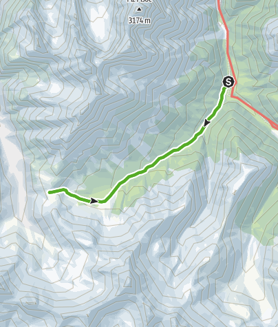 Map / Val Mingèr: Natur pur