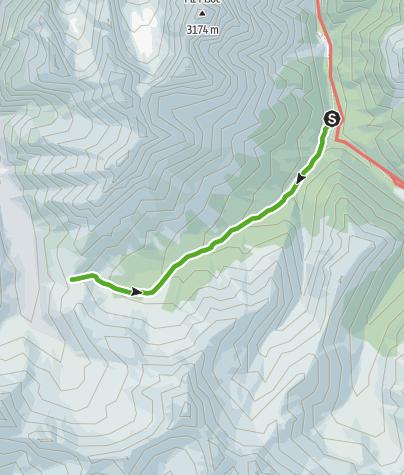 Karte / Val Mingèr: Natur pur