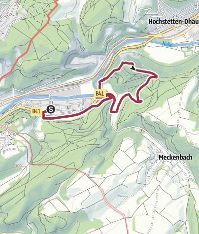 Karte / Kirn K14 / Rund um den Hellberg